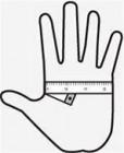 Skizze-Hand